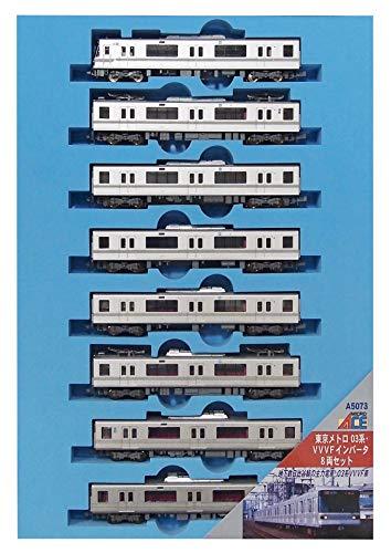 マイクロエース Nゲージ 東京メトロ03系 VVVFインバータ 8両セット A5073 鉄道模型 電車