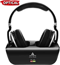 Wireless Headphones for TV Watching with Optical, ARTISTE ADH300 2.4GHz Digital Wireless..