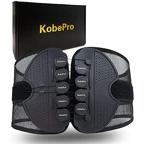 KobePro 腰用 サポートベルト 腰サポーター 腰楽コルセット 腰痛ベルト 強力固定 蒸れない スリム コルセット 薄型 通気性 男女兼用
