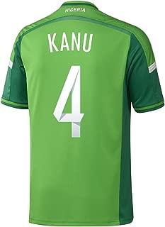 KANU #4 Nigeria Home Jersey World Cup 2014 (XL)