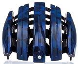 CARRERA - Casque De Vélo Pliable Edition Graphique - Bleu Camo Brillant, 58-61