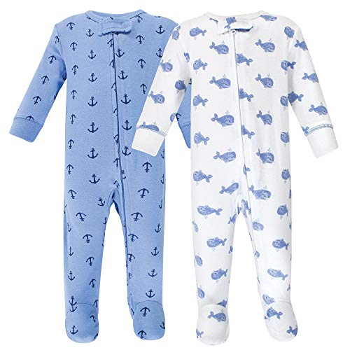 Hudson Baby Baby Cotton Sleep and Play