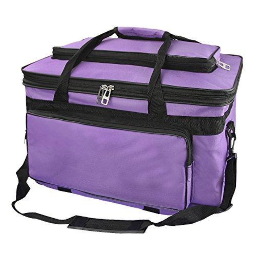 Waterproof Art/Craft Supplies Storage Tote Bag Artist Travel Portfolio Carrying Bag Case Painting Box Large Messenger Bag for Painting Brushes Pencils Palette Paints Sketchbook