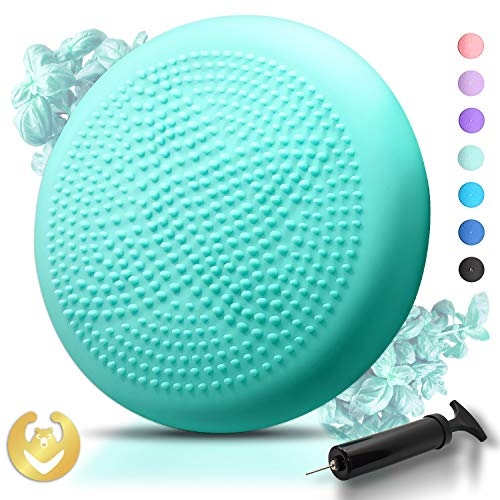 Great Features Of Tumaz Wobble Cushion - Wiggle Seat for Improve Sitting Posture & Attention also St...