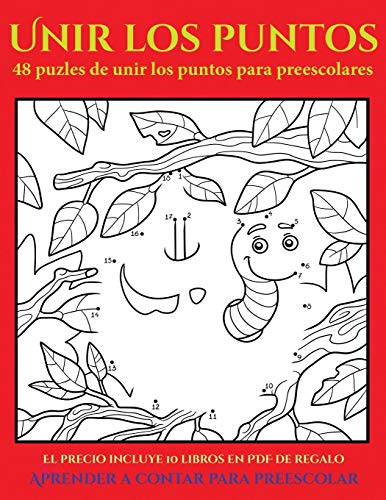 Aprender a contar para preescolar (48 puzles de unir los pun