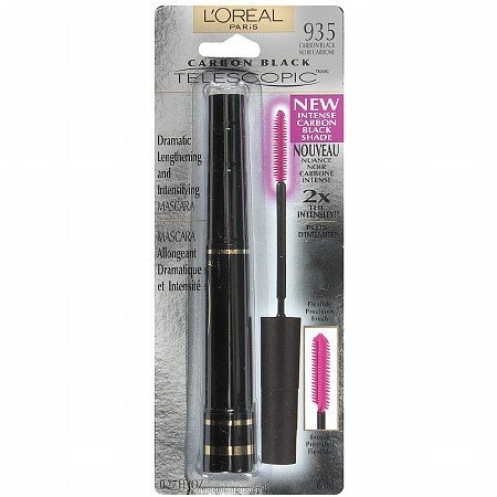 L'Oreal Carbon Black Telescopic Dramatic Lengthening and Intensifying Mascara Wimperntusche - Carbon...