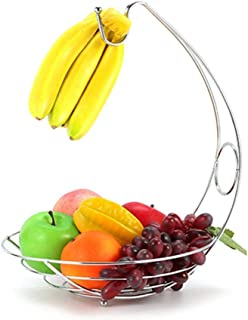 Drawihi バナナスタンド フルーツボウル 北欧 フルーツ・果物・小物入れ お菓子・果物収納かご アイロン インテリア 雑貨 強く長持ち 果物収納 2色展開