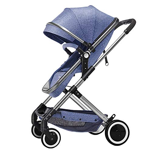Find Discount WYANAN Luxury Multifunctional 3 in 1 Baby Stroller Stroller Baby Light Folding Can Sit...