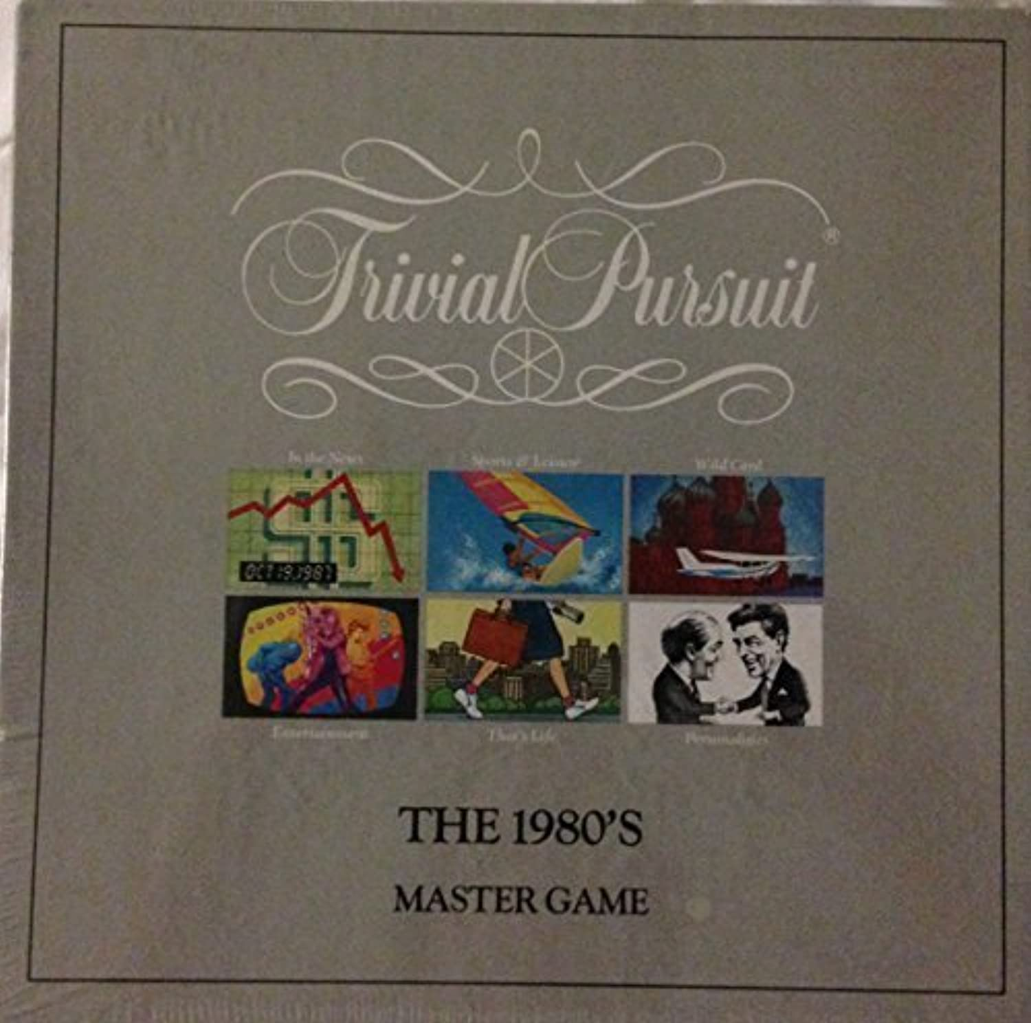 Trivial Pursuit  The 1980's Master Game by Trivial Pursuit