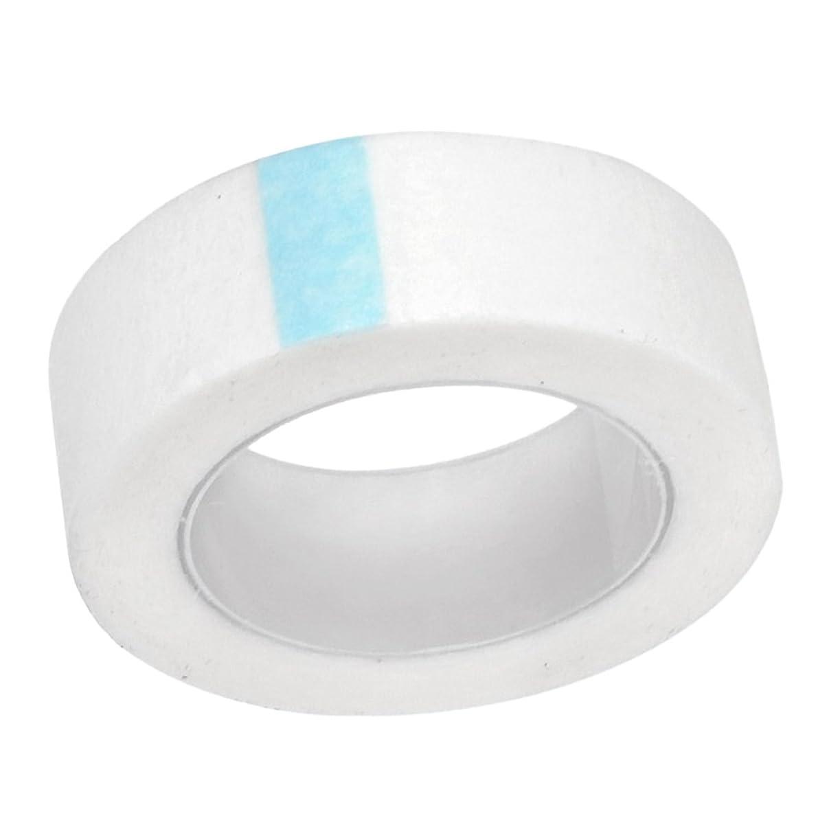 文言宣教師測定Non-brand 1ロールまつげ個々のエクステンションサプライラッシュテープツールマイクロポアペーパーホワイト