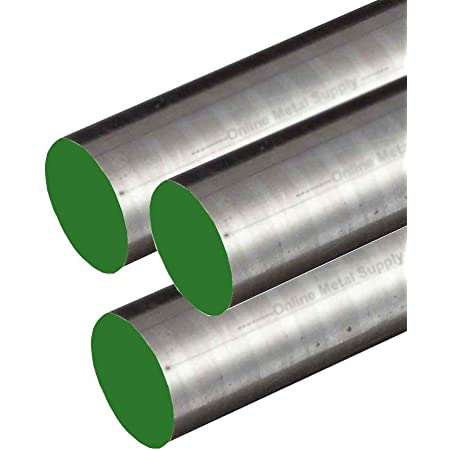 0.875 7//8 inch Online Metal Supply 304 Stainless Steel Round Rod x 72 inches