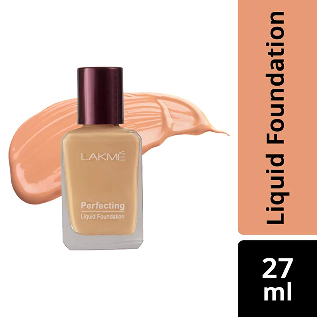 用心深い者残るLakme Perfecting Liquid Foundation, Pearl, 27 ml
