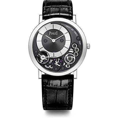 Piaget Altiplano Black and Silver Dial 18kt...