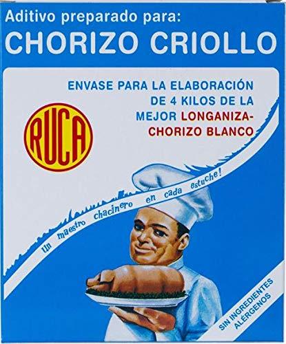 Chorizo Criollo - Mezcla para elaboración de chorizo blanco - RUCA 160 Gr