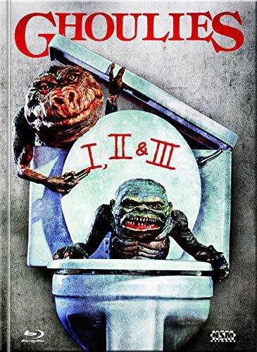 Ghoulies 1-3  [Blu-Ray] - uncut -  limitiertes Mediabook