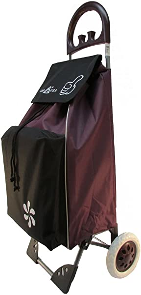 GNA Thumbs Up Shopping Trolley W Cooling Compartment Purple