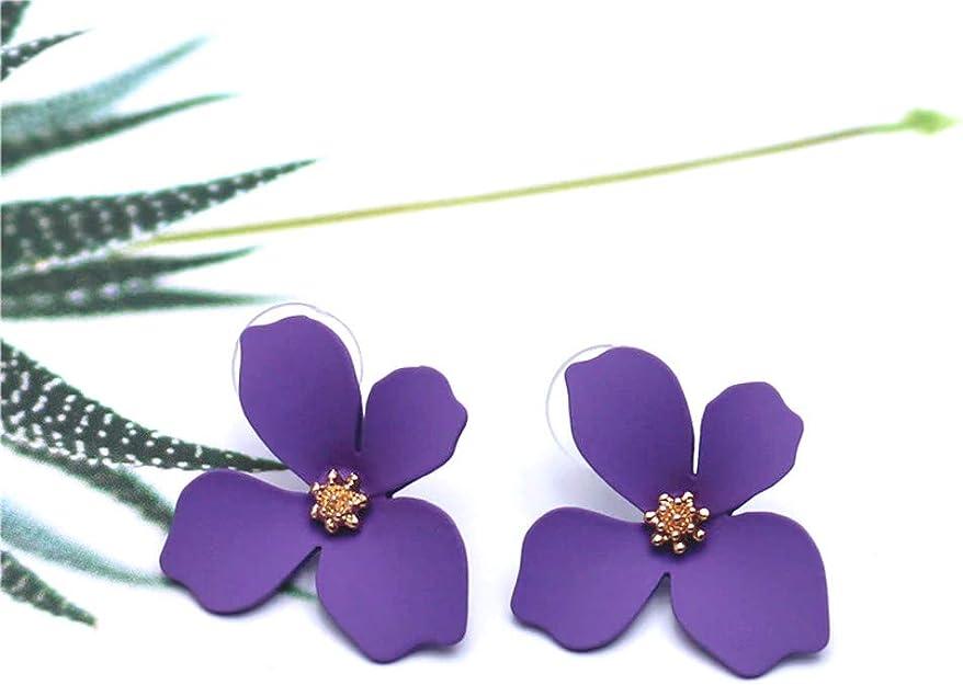 Exinox /Él/égante paire de boucles doreilles pour femme Collection printemps///ét/é Design fleurs