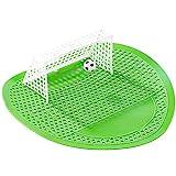 Fußball UrinalSieb,(Zitronengeruch), Gummimaterial, desodorierend/verhindert Blockierung/Frischluft / Spritzschutz/Spaß erleben/Antifouling, normale Größe