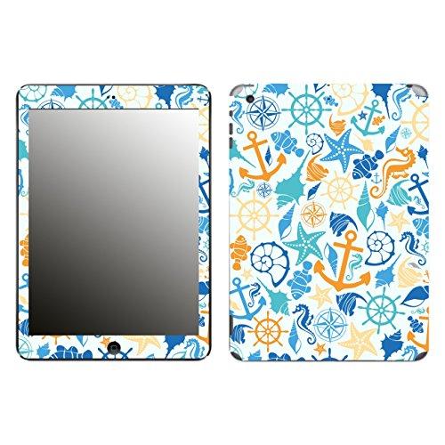 'Disagu Design Skin for Apple iPad Air WiFi + Cellular–SF 105286_–Sea Pattern Blue/Yellow/Clear
