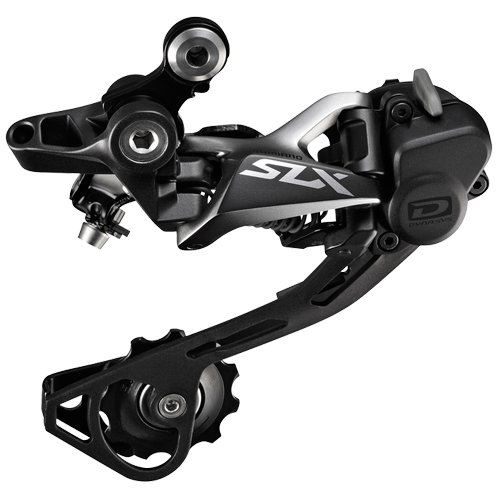 Shimano SLX RD-M7000Shadow, Cambio10 Velocità, Grigio/Nero