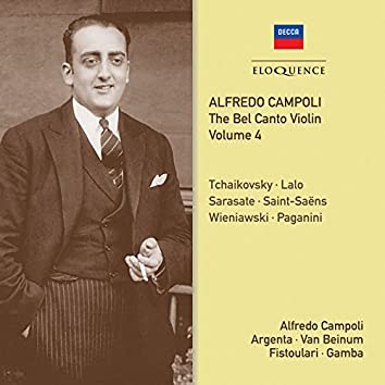 Alfredo Campoli: The Bel Canto Violin - Vol. 4