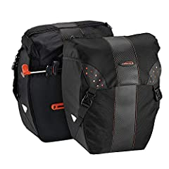 Smart quick release/clip-on system - With the smart quick release/ clip-on system, you can just simply attach and detach bags within few seconds - no straps required! Compatible with most carriers - If used with Ibera PakRak Carrier Plus+, other top-...