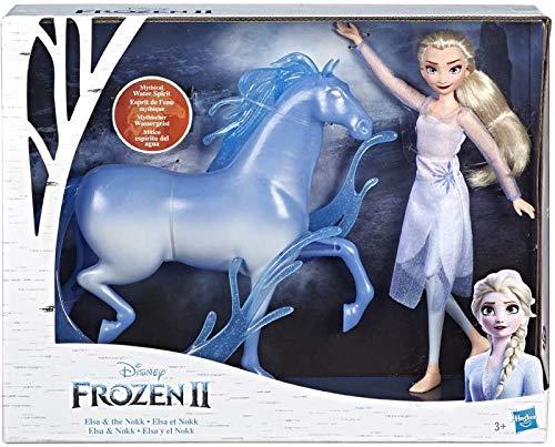 """Live * New * Elsa & NOKK Set di 2 statuine, circa 12 """"– Collezionate le tutte!"""