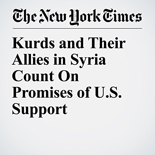 Kurds and Their Allies in Syria Count On Promises of U.S. Support copertina