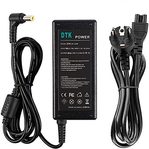 DTK® Notebook Laptop-Ladegerät AC-Netzteil für ACER Output: 19V 3,42A 65W Ladegeräte Netzteile Netz Batterie-Stromversorgung Stecker: 5.5mm X 1.7mm