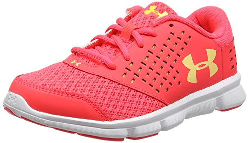 Under Armour Under Armour Mädchen Ua GPS Rave Rn Laufschuhe, Rot (Sirens Coral 297), 32 EU