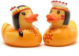Duckshop I Rubber Duck I Bath-Duck I Indian Pair Orange