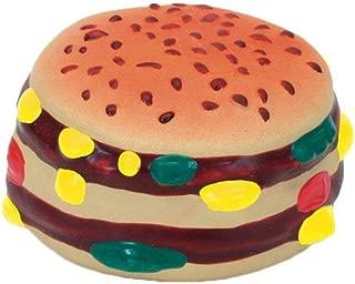 Coastal Pet Rascals Latex Hamburger Dog Toy 2.5-Inch