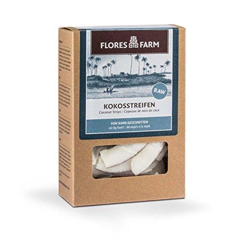 Flores Farm Bio Premium Bio Kokosstreifen (1 x 90 gr)