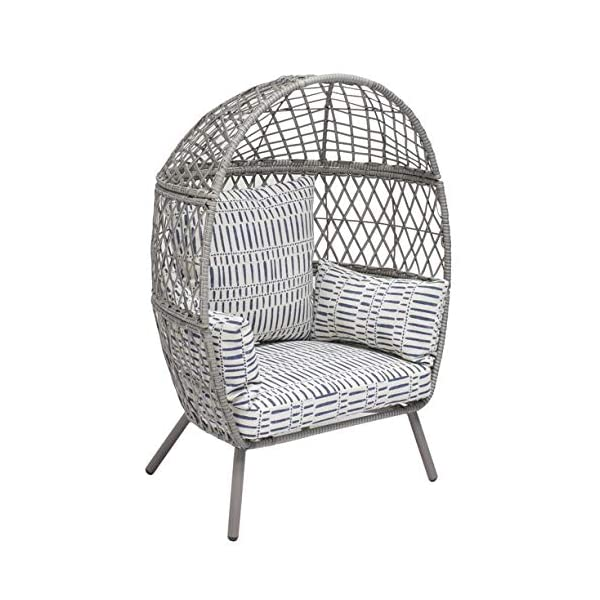 Better Homes & Gardens Ventura Stationary Outdoor Egg Chair