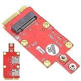 Dibiao M. 2 a Mini PCI‑E Adaptador Módulo Convertidor con Ranuras para Tarjeta SIM Accesorios para Ordenador Portátil