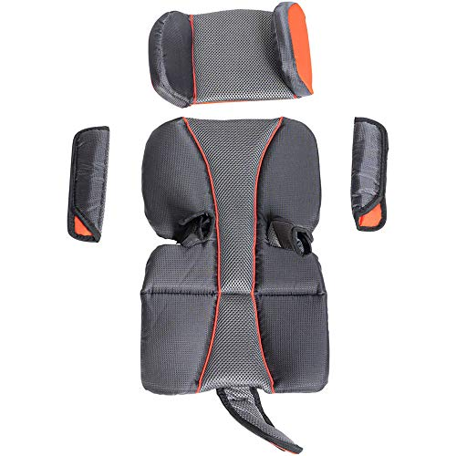 Sale!! Burley Unisex - Baby Premium Cub X Seat Pad Set, Grey, One Size