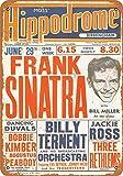 Boydf333o Tin Signs 1953 Frank Sinatra in Birmingham