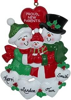 Proud New Parents Ornament