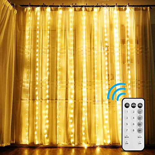 DLIUZ 98 feet Thick Safe 2-Wire Waterproof LED Rope Lights Christmas Lights for Background Lighting,Bridges,Eaves with UL Certified (98ft/30M) (Warm White)