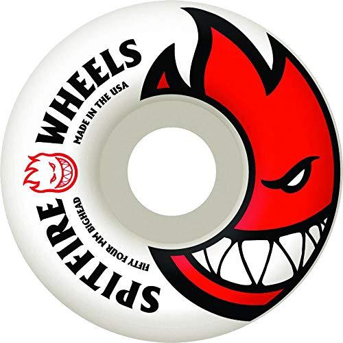 Spitfire Spiel-4Skateboard-Räder, Bighead Skateboard-Rollen 52 mm White/Red