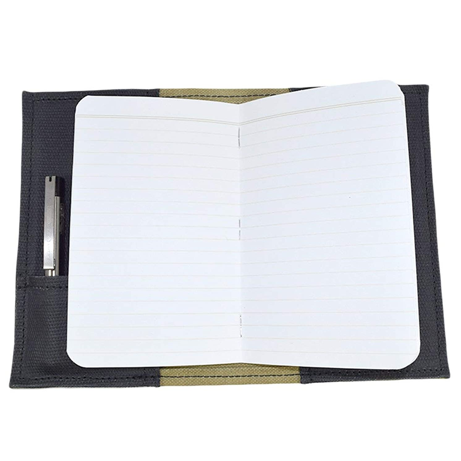 Waxed Canvas Field Notes Cover, Wallet Case, 3.5