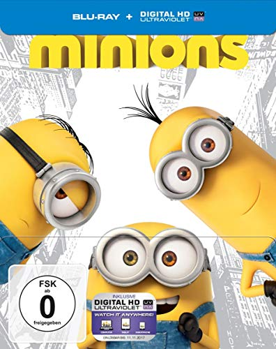 Minions (Steelbook) [Blu-ray] [Limited Edition]