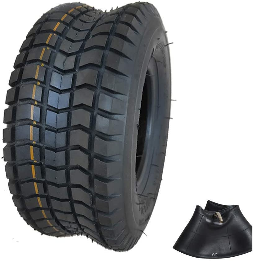 Neumáticos De Scooter Eléctrico 9X3.50-4 Neumáticos Interiores Y Exteriores Antideslizantes Banda De Rodadura Ensanchada Resistente Al Desgaste Adecuado para Accesorios De Neumáticos De Scooter De E