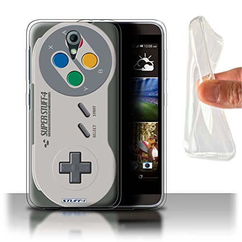 Hülle Für HTC Desire 620G Spielkonsolen Super Nintendo Design Transparent Dünn Flexibel Silikon Gel/TPU Schutz Handyhülle Case