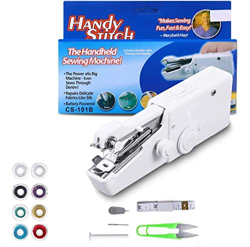Mini Handheld Sewing Machine, ARTISTORE 15Pcs Portable Sewing Machine, Mini...