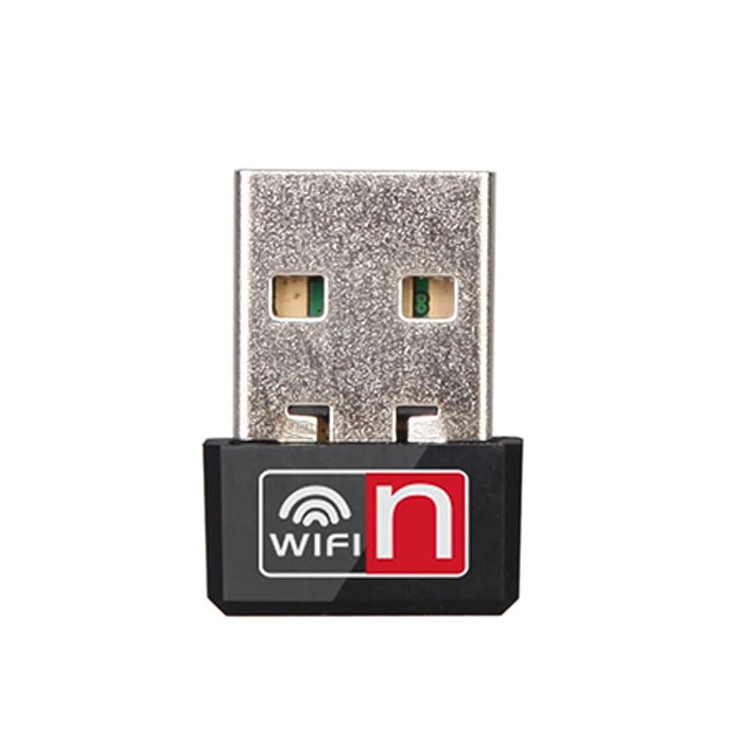 Abnana ?PCラップトップ用150Mbps USBワイヤレスWiFiアダプターネットワークLANカードドングルMT7601