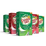 Canada Dry, Variety Pack – Powder Drink Mix - (5 boxes, 30 sticks) – Sugar Free & Delicious, Makes 72 flavored water beverages