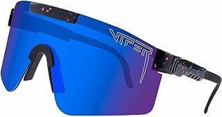 Pit-Viper Sunglasses, Polarized UV400 Sunglass for Men Women, Cycling Running Fishing Golf...