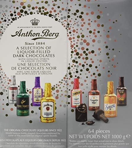 Anthon Berg Chocolate Liqueurs With Genuine Original Spirits 64 Pcs Gift Box