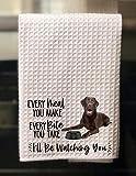 The Creating Studio Personalized Chocolate Labrador Retriever Every Meal You Make, Every Bite You...